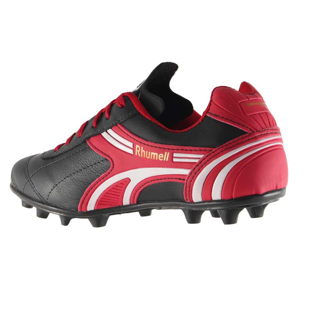 Chuteira Futebol De Campo Rhumell 100% Couro R1120-C