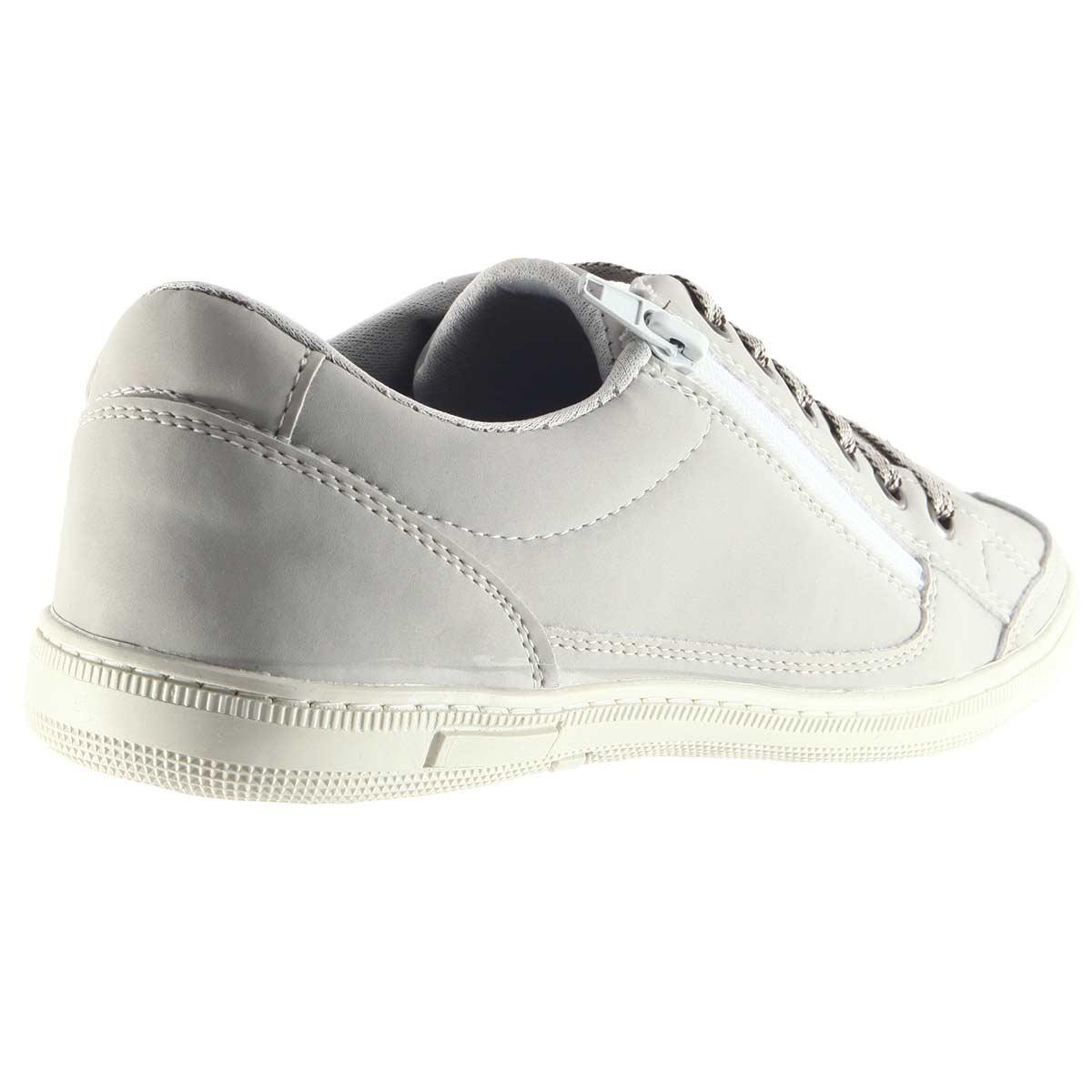Sapatênis Doc Shoes Casual Ziper Confortável Lindo 7124