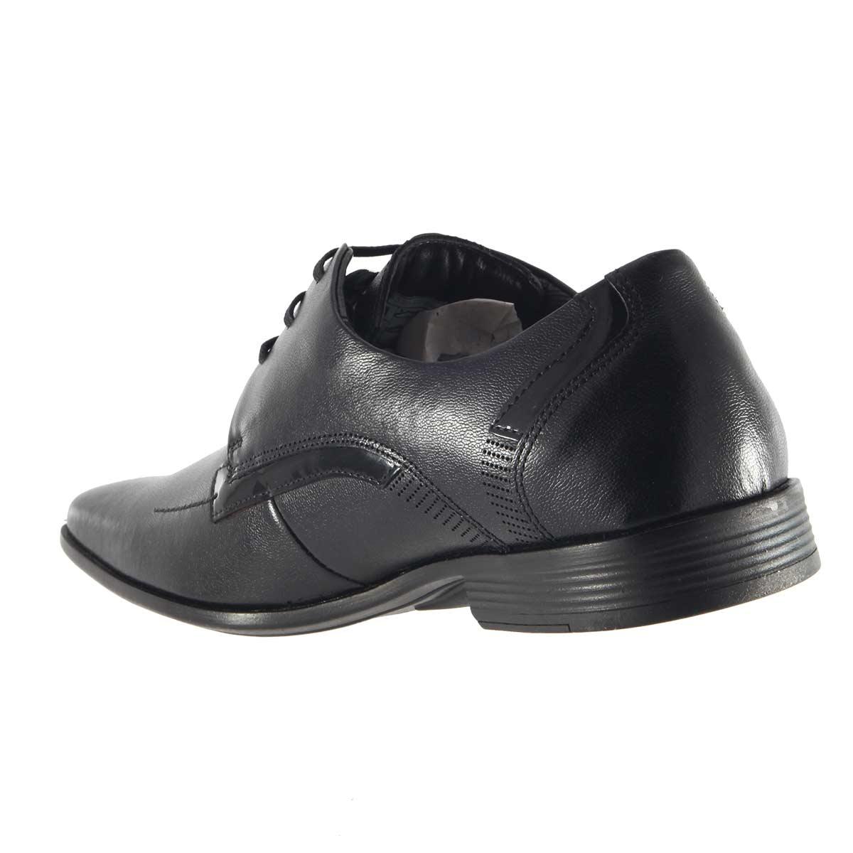 Sapato Ferracini Flex Cadarço Couro 3430-203G