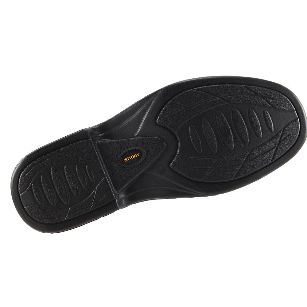 Sapato Isttony Conforto Anti-stress Em Couro Pelica Legítimo 2001