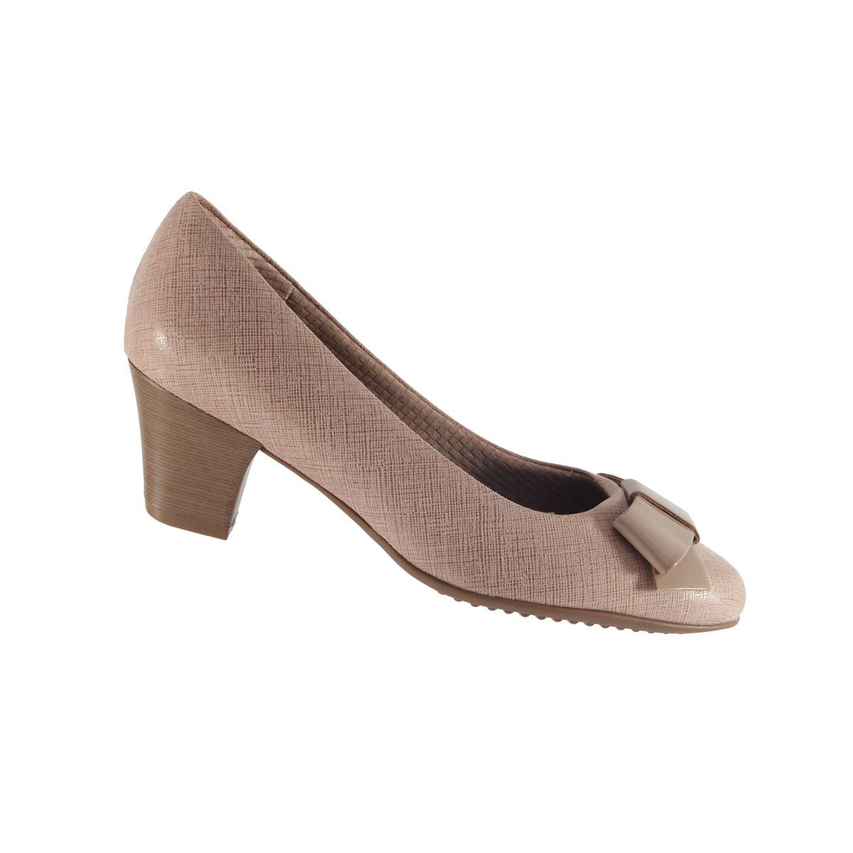 Sapato Scarpin Salto Baixo Piccadilly 110111
