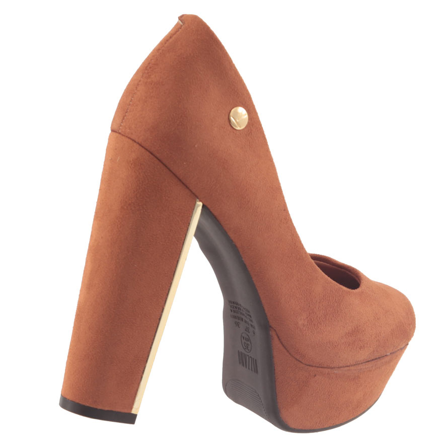 Sapato Scarpin Vizzano Camurça Flex Feminino 1217100