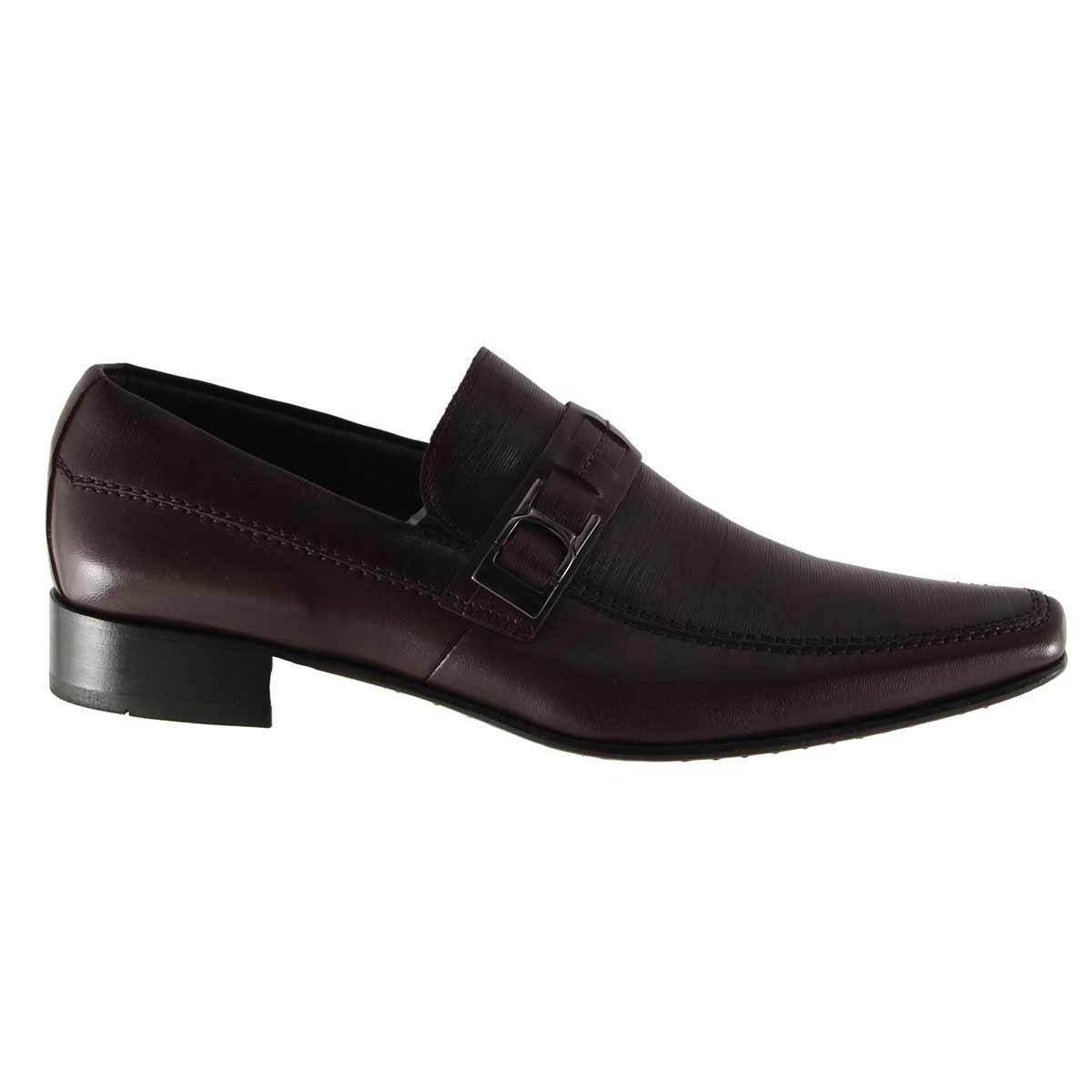 Sapato Scatamacchia Social Fivela 100% em Couro 012-848