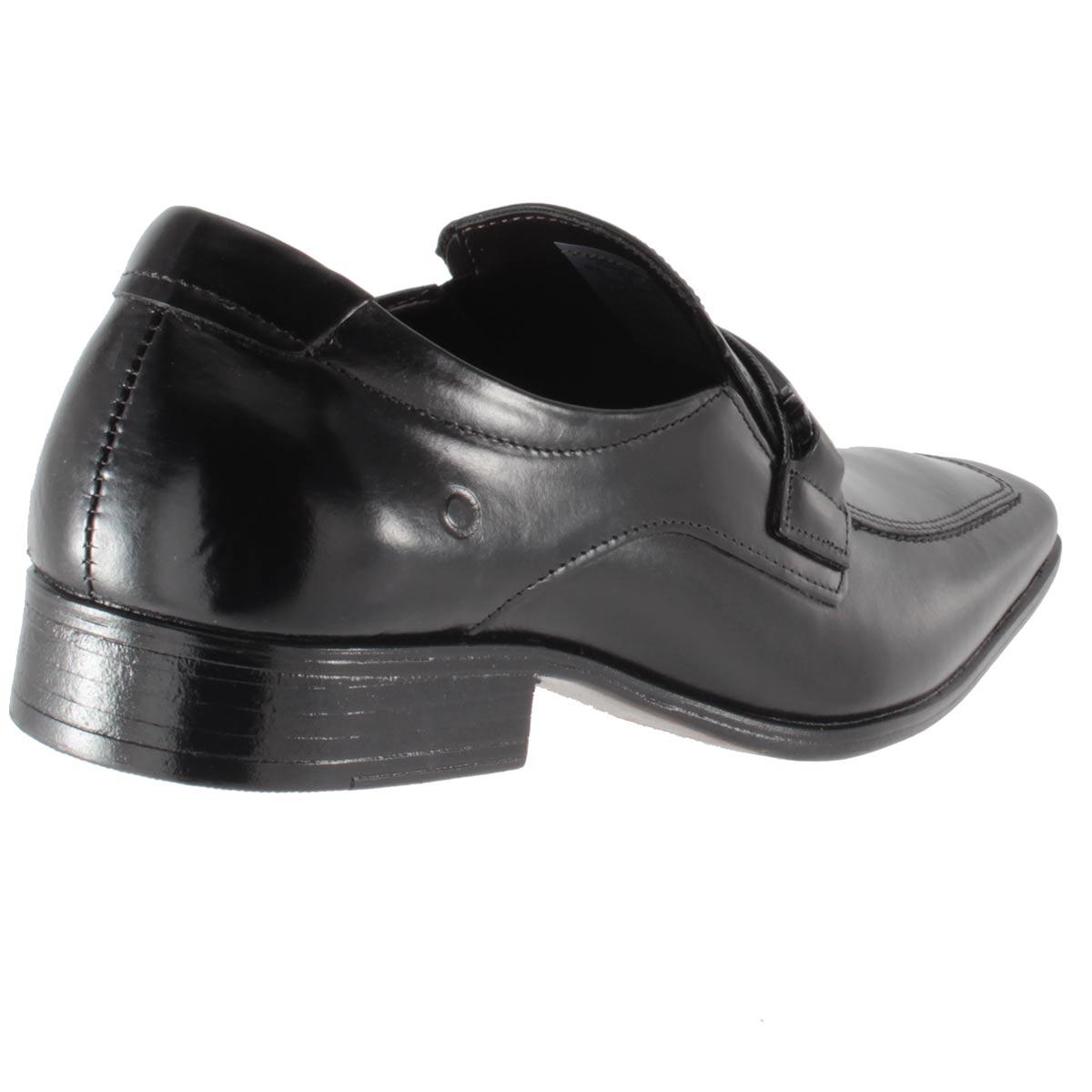 Sapato Social Democrata Denver Couro Fivela Masculino Lindo 450049
