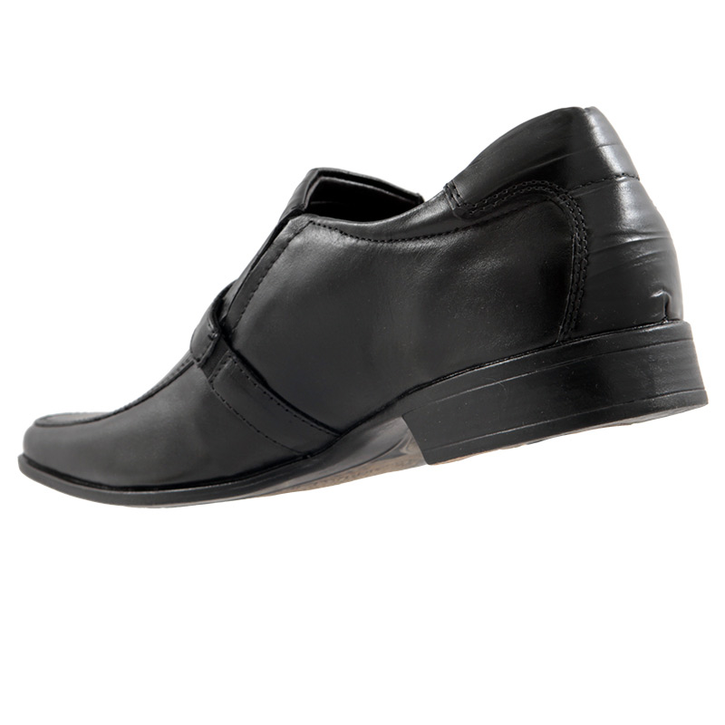 Sapato Social Rafarillo Masculino em Couro + Cinto Brinde 6808697