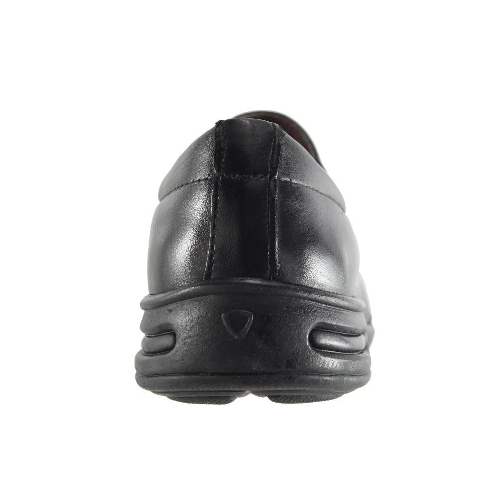 Sapato Social Trilhos Em Couro Legítimo Conforto Masculino 0074M
