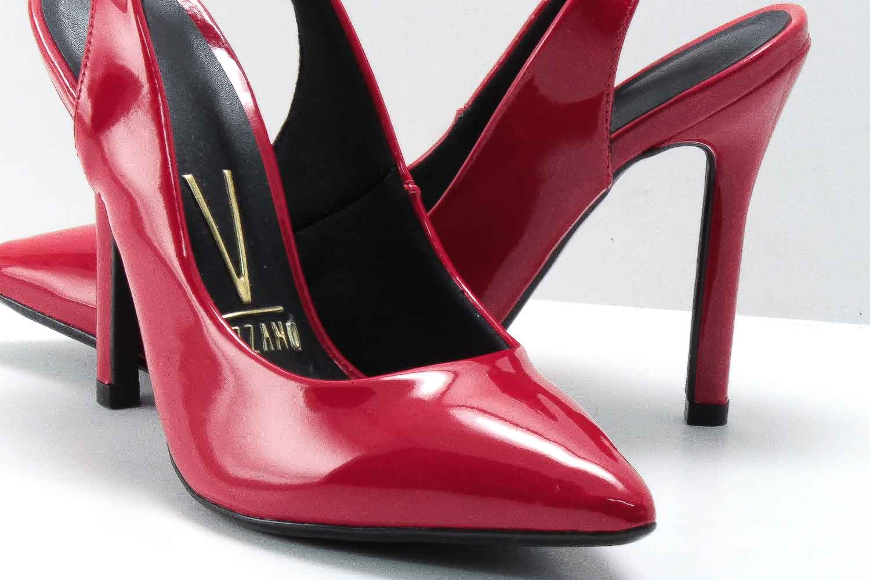 Sapato Vizzano Scarpin Chanel Feminino Verniz 1276105
