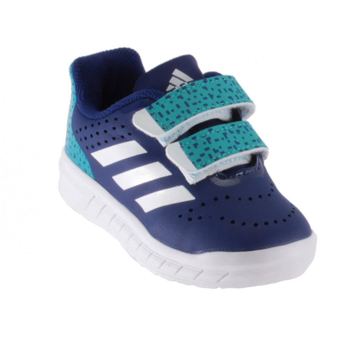Tênis Adidas Quicksport CF Velcrom Infantil Menino