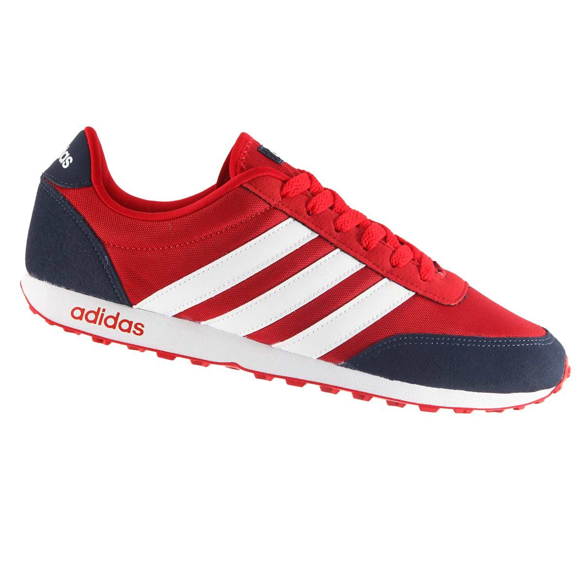 56261e373 Tênis Adidas V Racer Jogging Masculino AW3880 .