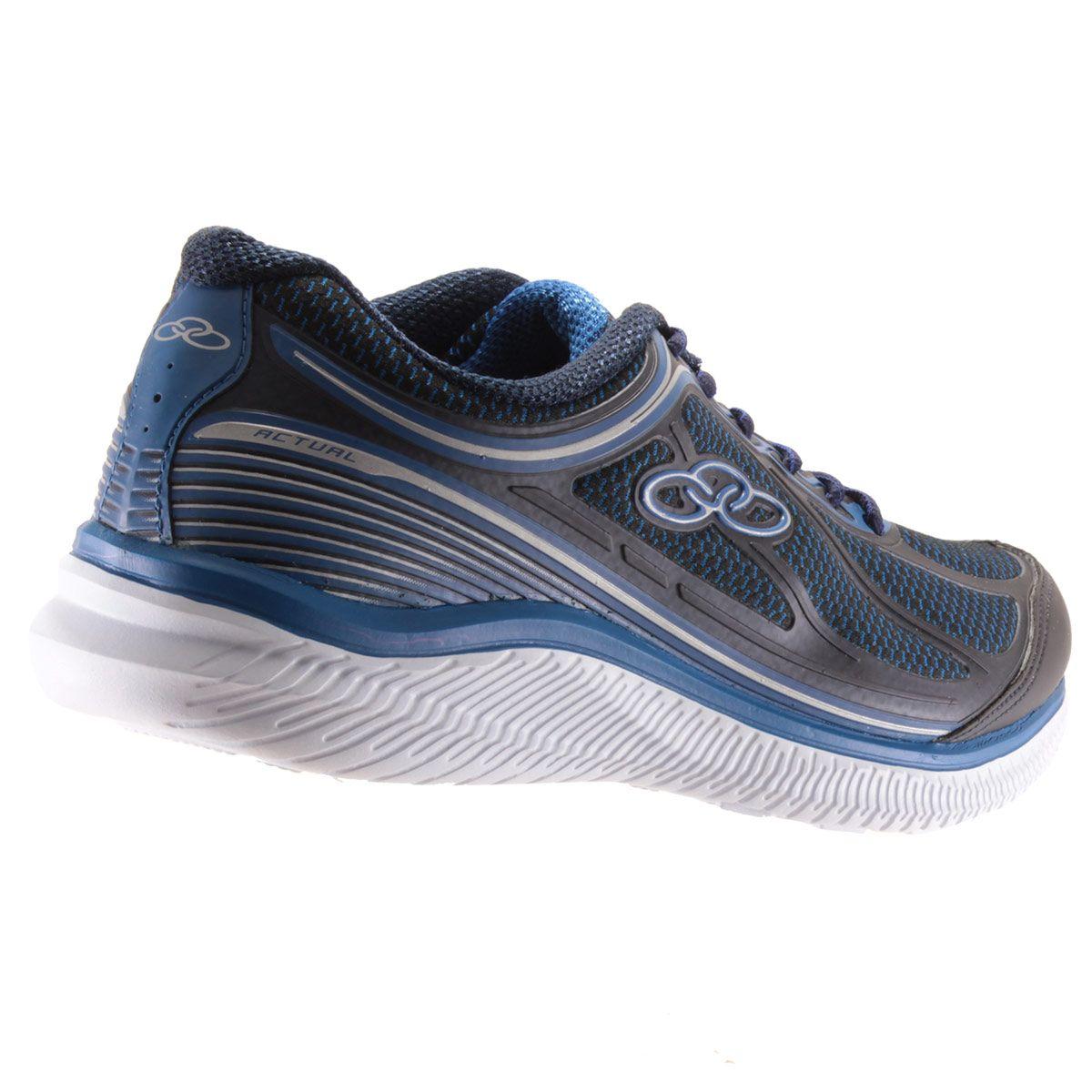 Tênis Olympikus Actual Masculino Caminhada Corrida 422
