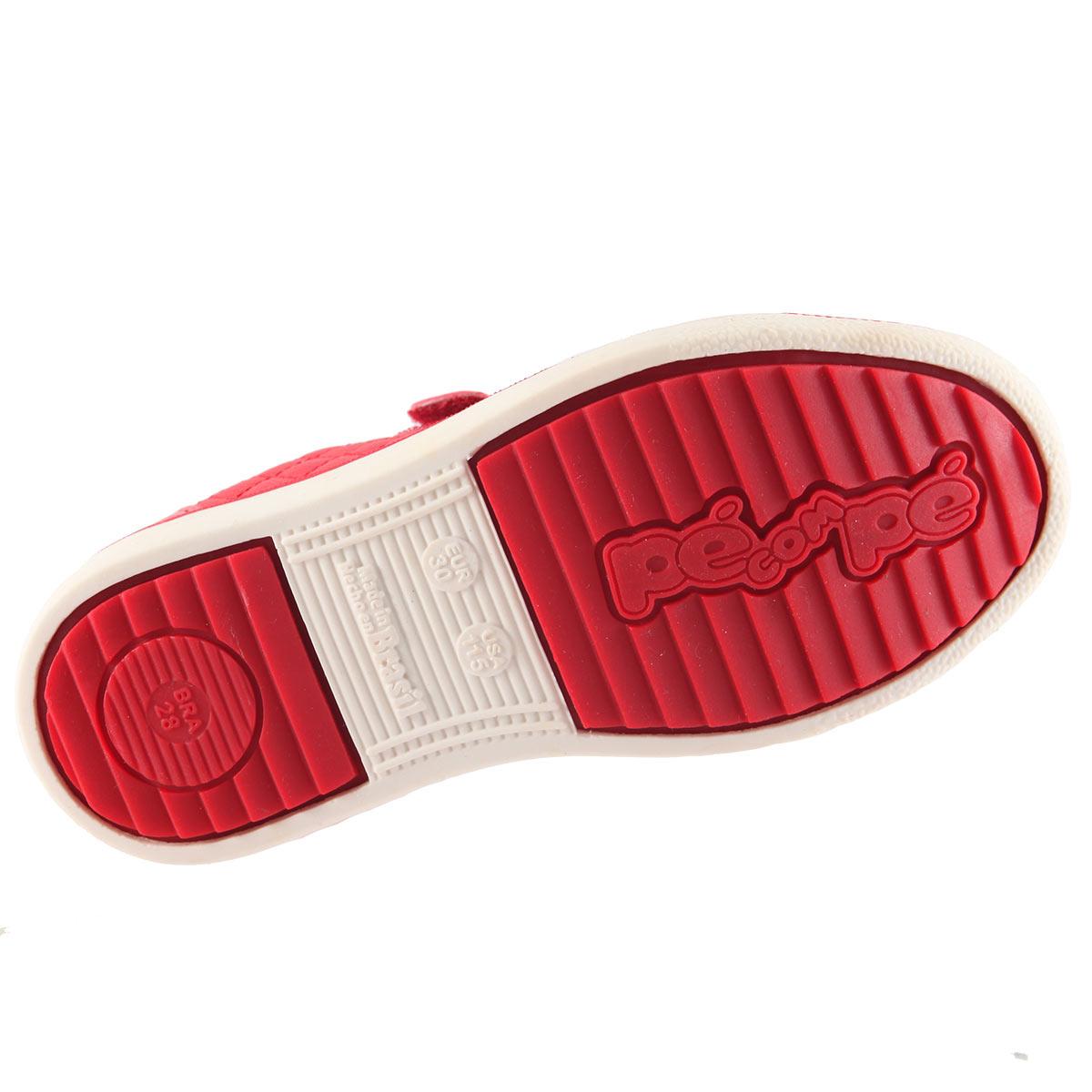 Tênis Pé com Pé Casual Kids Infantil Velcrom 52540