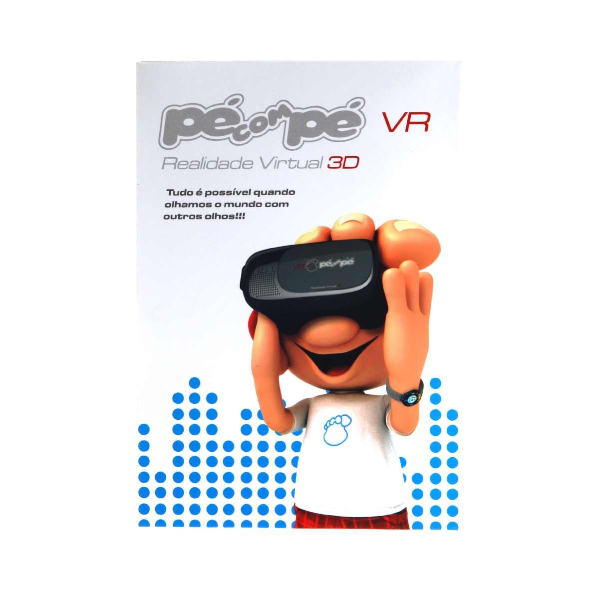 Tênis Pé com Pè Menino VR Realidade Virtual 3D 60002