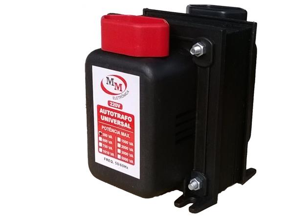 Auto Transformador automático 300VA Bivolt 110/220 E 220/110 - marca MM