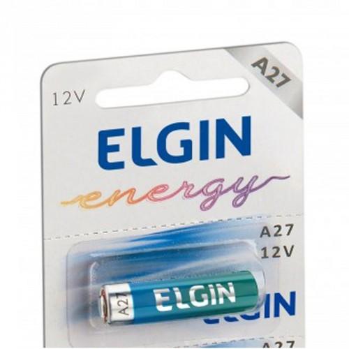 Bateria pilha energy 12V A27 p/ controle alarme portão - Elgin