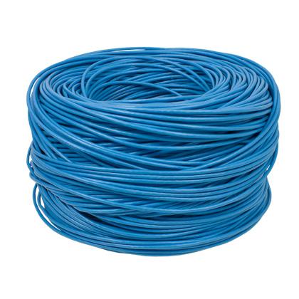 Cabo de rede Lan UTP Cat5E azul com 100 metros