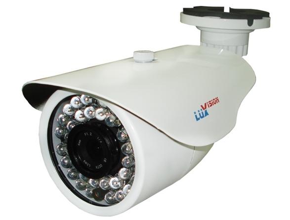 Câmera infra 1/3 sony 50 metros varifocal 2,8~12mm - Luxivision