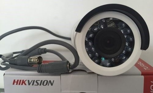 Câmera Infra Hikvision 720p Turbo Hd 20mt Hd-tvi 1.0mp 3.6mm