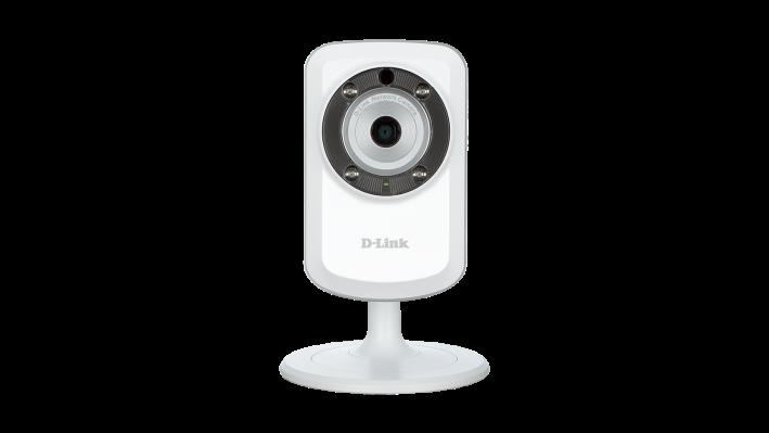 Camera Ip Wireless Cloud D-link H.264 Dcs-933L som, imagem e visão noturna