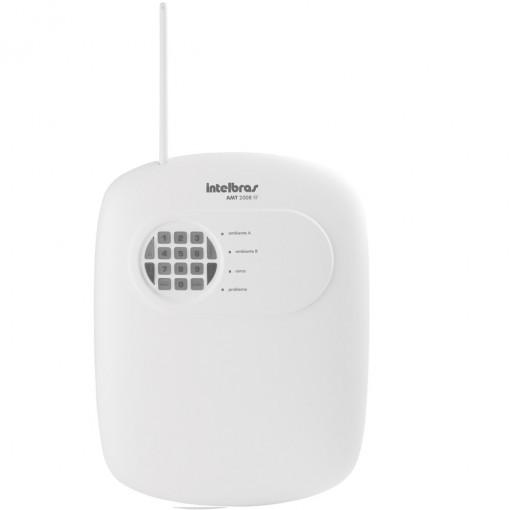 Central de alarme intelbras AMT 2008 Rf Monitorada  - Esferatronic Comercio e Distribuição