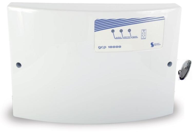 Central de cerca elétrica Gcp10.000 certificada Inmetro- Securi Service