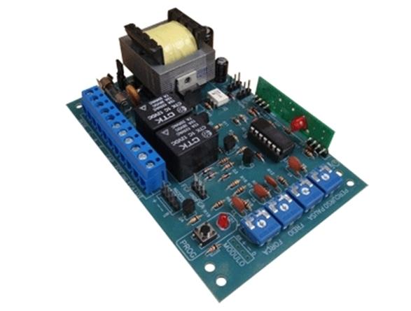 Central de comando eletrônica 4 trimpots linha GA c/ receptor 433MHZ - IPEC