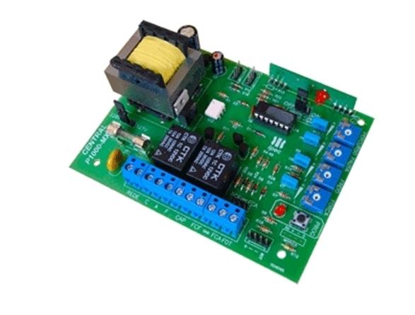 Central de comando eletrônica bivolt P1000-MX130 compativel Rossi - Ipec