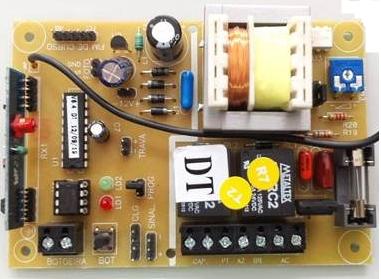 Central de comando eletrônica Smart max G1 bivolt GME - Unisystem