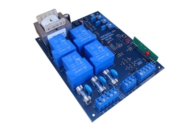 Central de comando eletrônica trifásica industrial c/ freio e receptor 433Mhz - Ipec
