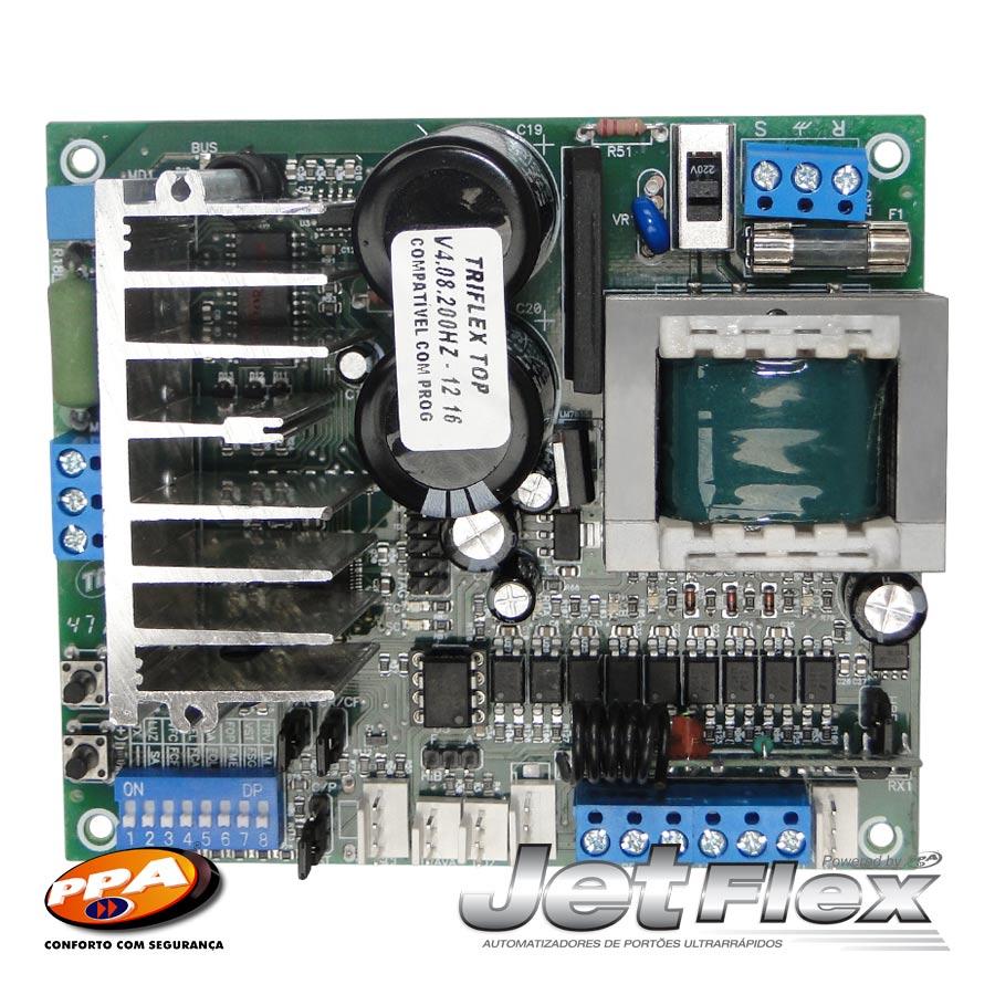 Central de comando eletrônica Triflex Hibrida bivolt - PPA