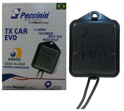 Controle Tx-car 433Mhz para carro (farol) - Peccinin