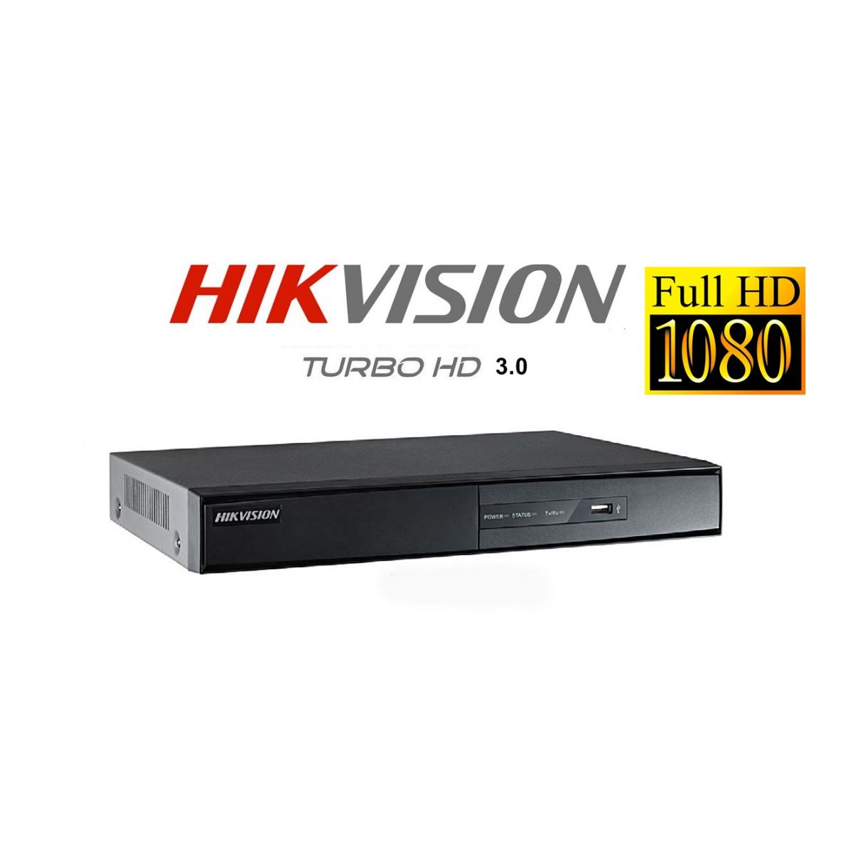 Dvr 4 ch. Hikvision Turbo Hd 3.0 Pentaflex 5x1 Full Hd 1080p