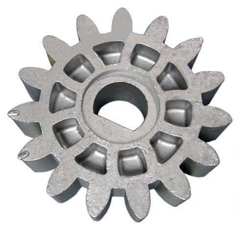Engrenagem metalica externa para motores Rossi Dz3 e Dz4