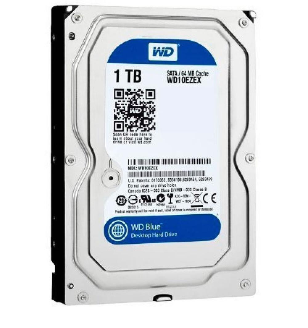 HD Interno Nacional WD *blue* 1 TB Sata III 7.200 Rpm 64mb - WD10EZEX