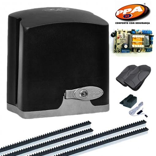 Kit motor portão eletronico DZ Rio turbo 1/2 hp Fim de curso Hibrido