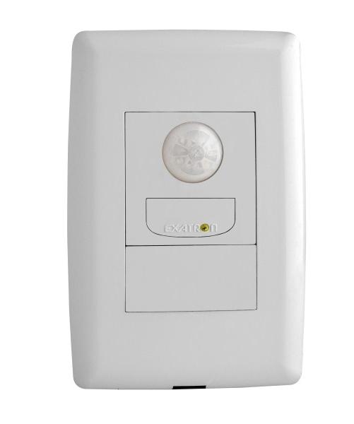 Sensor de presença auto-on-off 4x2 para iluminação (110º)