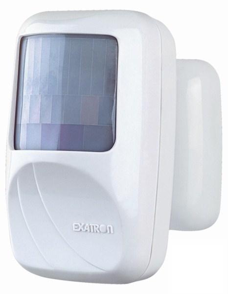 Sensor de presença frontal para iluminação (110º)