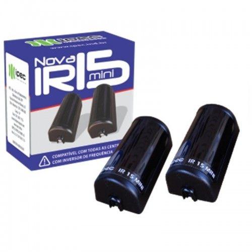 Sensor Fotocélula anti esmagamento Ativo Infra Feixe Simples IR 15 MINI Digital Ipec