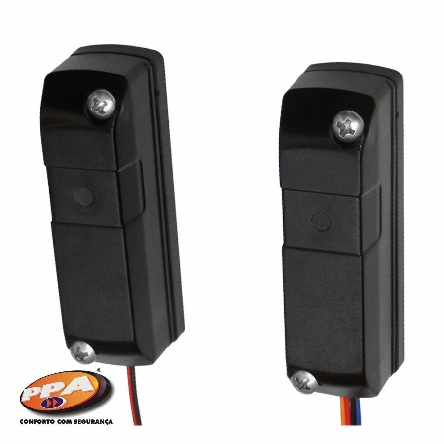 Sensor Fotocélula Anti Esmagamento p/ Automatizadores de Portão F10 - PPA