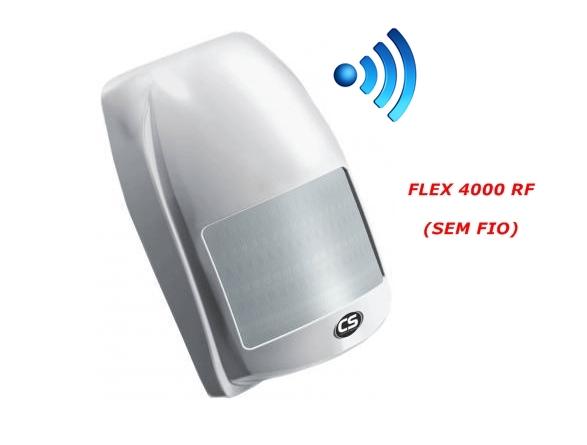 Sensor infravermelho flex 4000 RF sem fio - CS