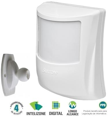 Sensor infravermelho passivo digital sem fio SPW425 - Sulton