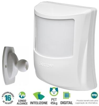 Sensor infravermelho passivo digital sem fio SPW 445 Pet - Sulton