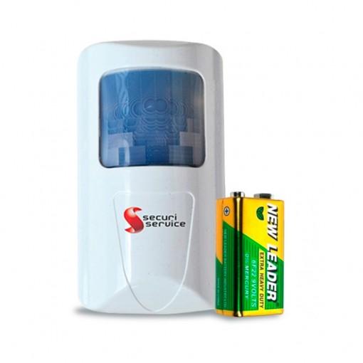 Sensor infravermelho sem fio SS2200 passivo standard - Securi Service