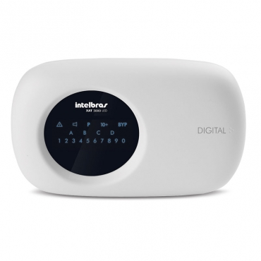 Teclado XAT 3000 LED para centrais de alarme Intelbras