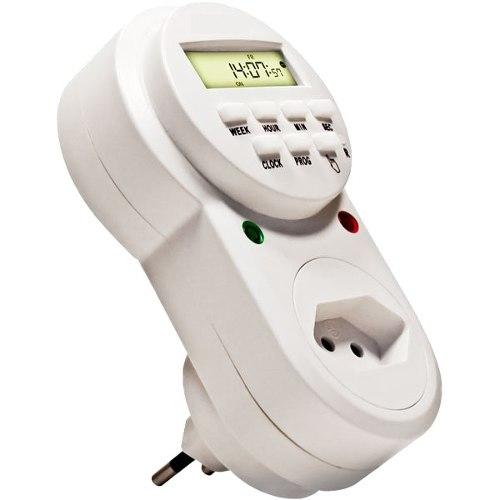 Timer temporizador digital 18 programas p/ Ligar e desligar Aparelhos - Exatron