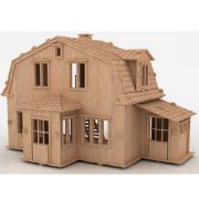 Casa De Bonecas em Mdf Para Polly, Barbie Pocket  e Similares Modelo C5