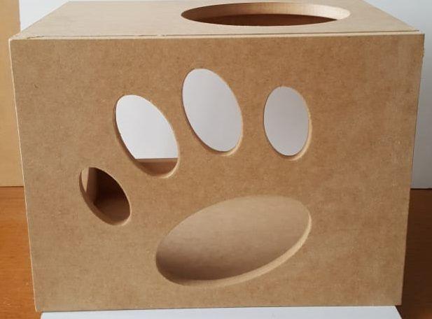 Kit Nicho para Gato - 10 peças = 4 Nichos + 4 Prateleiras + 1Escada + 1Ponte Gato Mdf 15mm