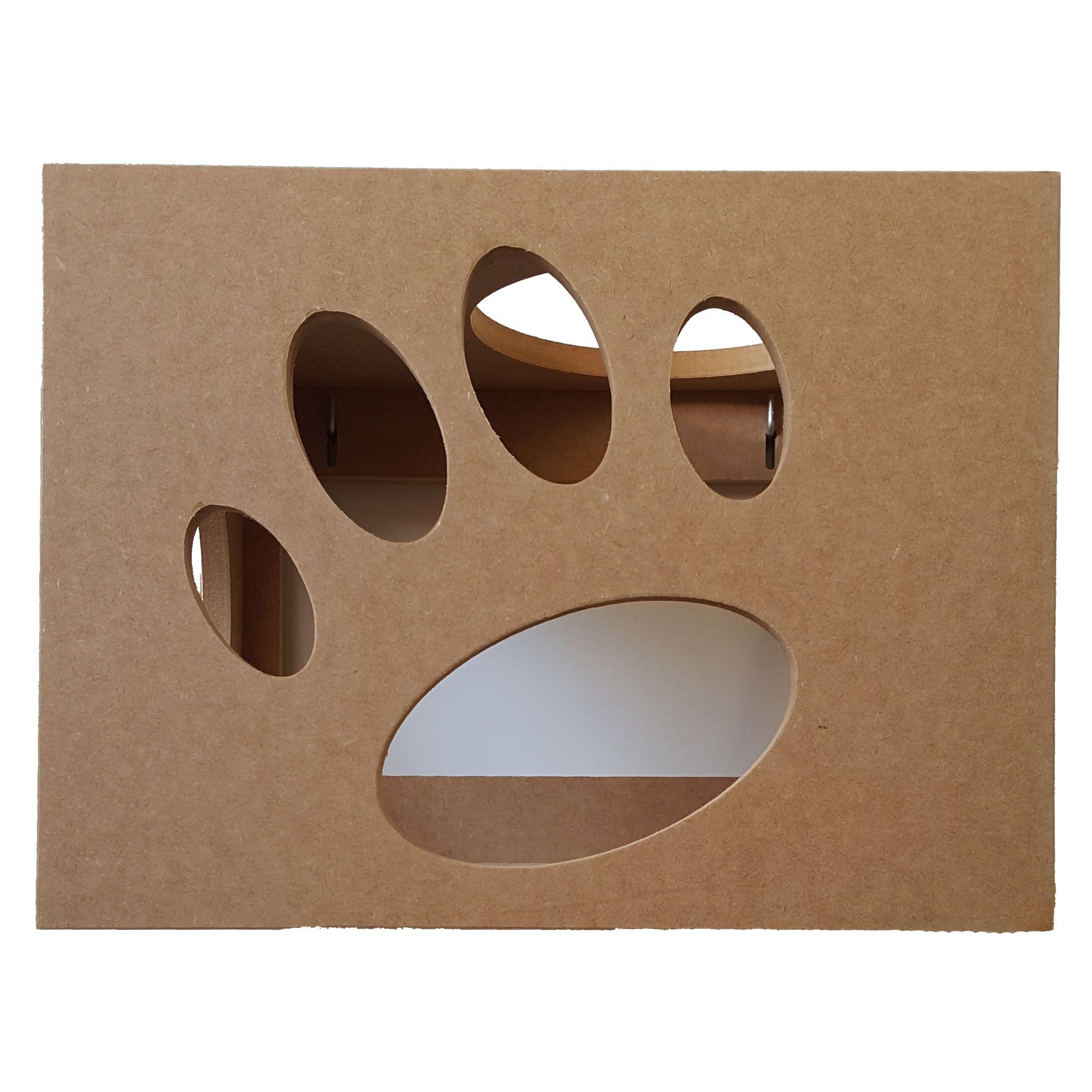 Nicho para Gato com abertura lateral e superior  - Pet Em Mdf 15mm
