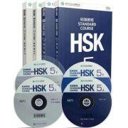 HSK--nível 5 ,  livro de texto e livro de exercícios