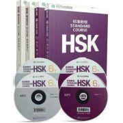 HSK--nível 6 ,  livro de texto e livro de exercícios