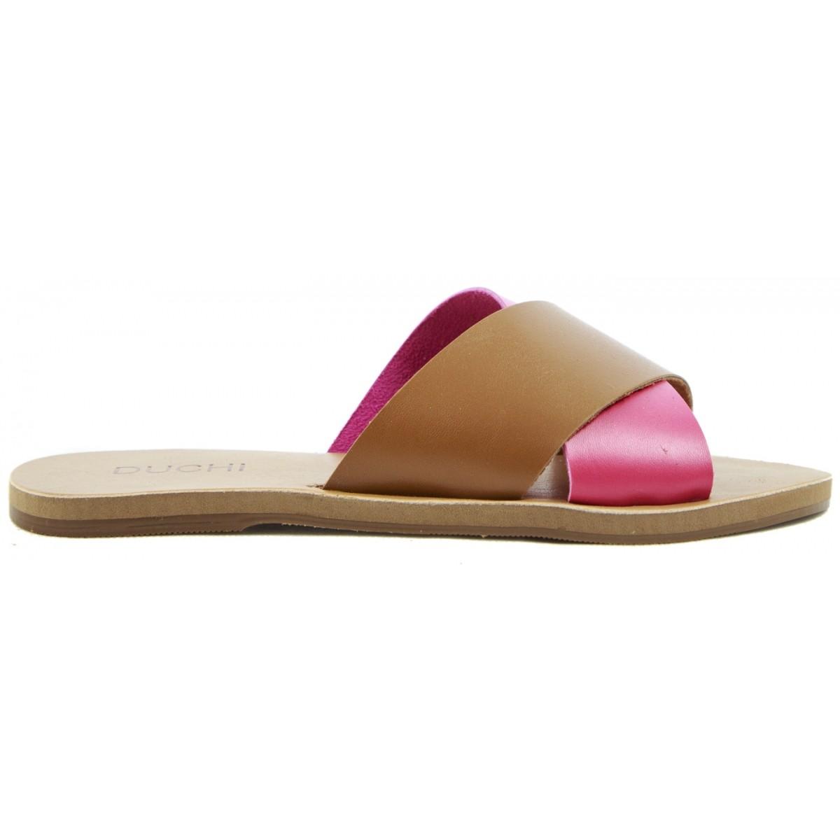 Rasteira X Caramelo / Pink